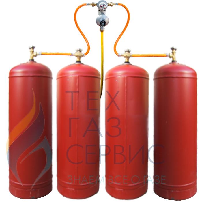 Баллонная установка ГазЗаЧас-4 за 11600 руб. Купить Баллонная установка ГазЗаЧас-4 в ТехГазСервис с доставкой